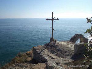 Нос Калиакра - поглед над параклиса