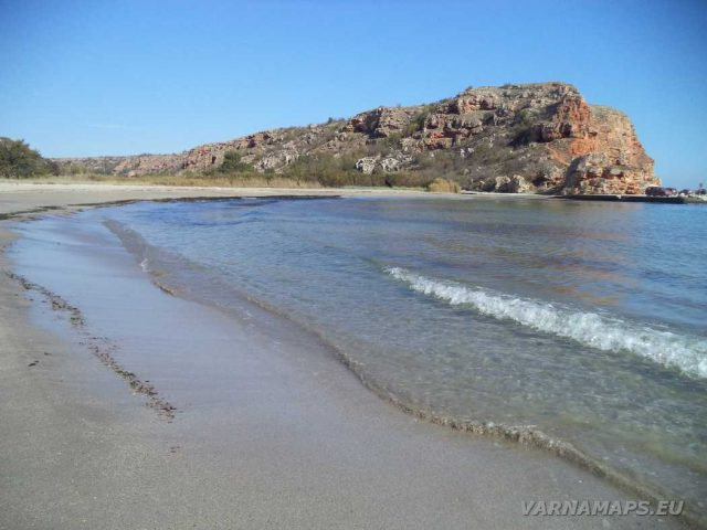 Залив Болата - на плажа