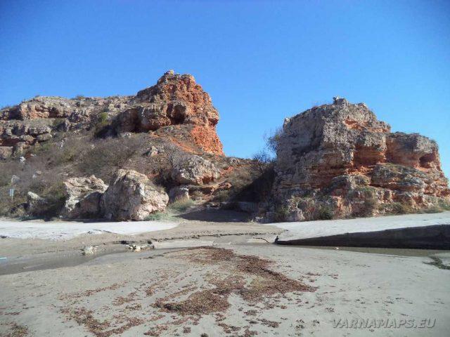 Залив Болата - край плажа