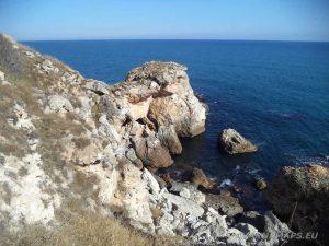 Камен бряг - изглед от скалата
