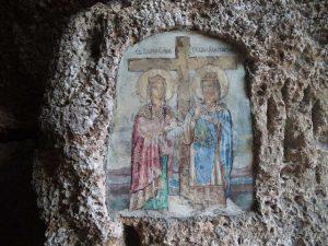 Резерват Яйлата - скална църква - икона