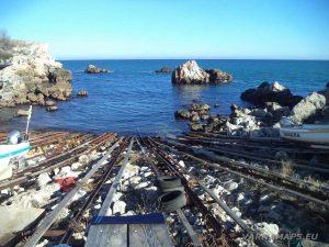 Екопътека Тюленово - лодките на рибарския пристан