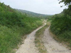 Екопътека Кара пещера - пътеката край село Манастир
