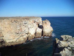 """Екопътека """"Тюленово"""" - красивите скали в началото на маршрута"""