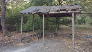 Заслон да пикник в гората над Владиславово