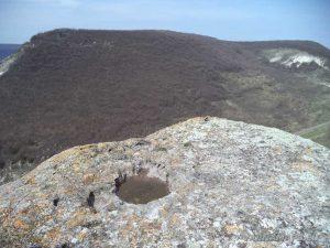 Венчанско кале - поглед от скалата