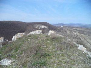 Венчанско кале - на платото
