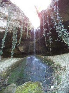 Равненски водопад - общ изглед