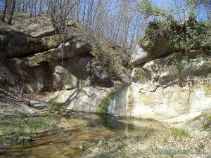 """Водопад """"малкия"""" Скок - общ изглед"""