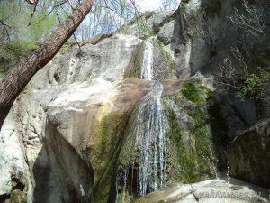 Водопад Скока - общ изглед на водопада