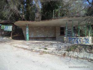 Екопътека Аладжа - Кранево - автобусната спирка край Аладжа манастир