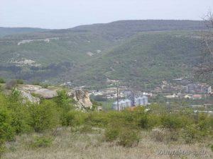 """Провадийското плато - """"Саръ кая"""" погледната отстрани"""