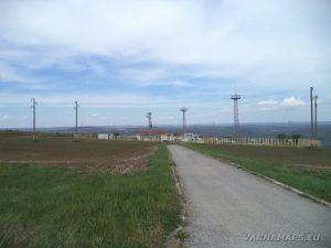"""Скален манастир """"Чукара"""" - началната точка на маршрута - газова станция """"Булгартрансгаз"""""""