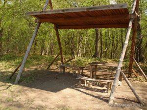 Екопътека Аладжа - Кранево - заслон за почивка край Златни пясъци