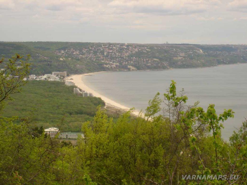 Екопътека Аладжа - Кранево - впечатляваща гледка към курорт Албена