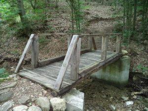 """Екопътека """"Веселиново"""" - интересен дървен мост по маршрута към светилище """"Софрата"""""""