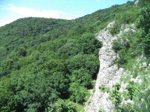 """Край язовир """"Цонево"""" - изглед от скалите на местност """"Града"""""""