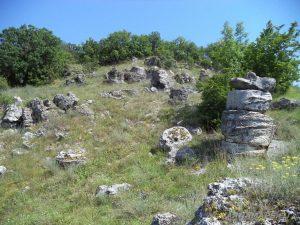 Побити камъни - група Авренска поляна - общ изглед
