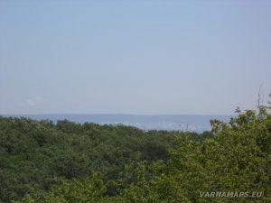 Местност Капладжата - панорамен изглед към Варна
